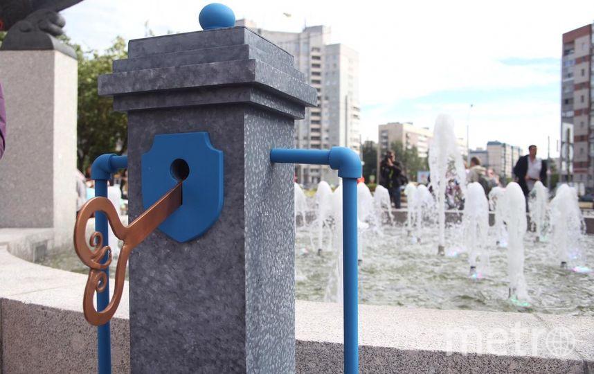 """Фонтан на проспекте Королёва. Фото gov.spb.ru, """"Metro"""""""