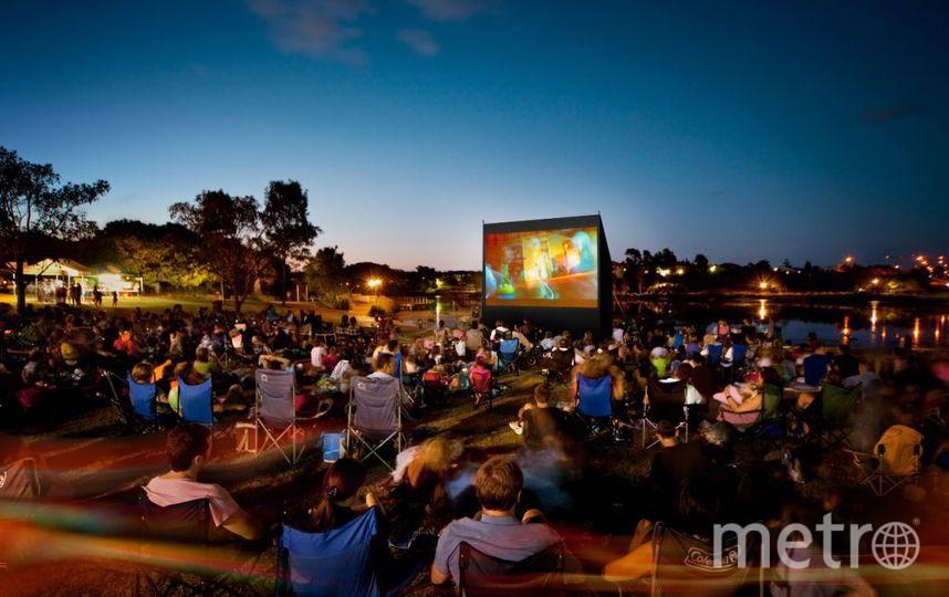"""Фестиваль """"Кино рядом"""" в парке """"Озеро Долгое"""". Фото Предоставлено организаторами"""