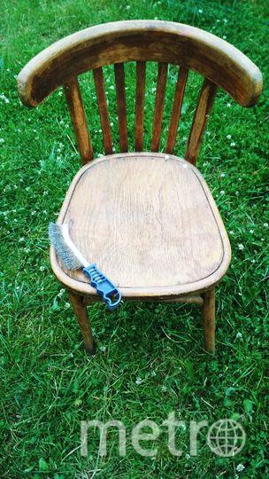 Для начала почините выбранный стул. Фото Скриншот instagram @grebenkova_art_actris
