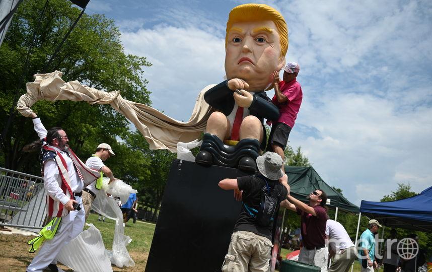 Так проходит День Независимости в Вашингтоне. Фото AFP