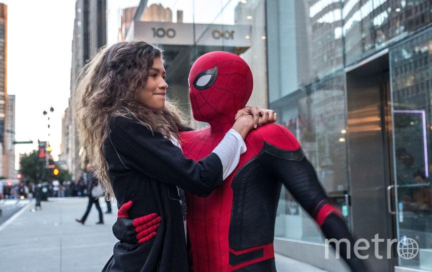"""Кадр из фильма """"Человек-паук: Вдали от дома"""". Фото WDSSPR"""