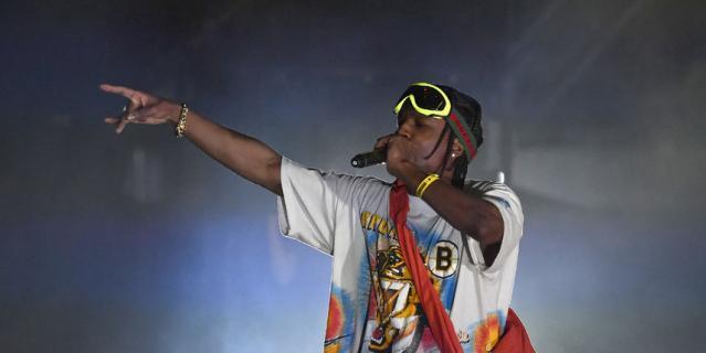 A$AP Rocky вытупит в Москве.
