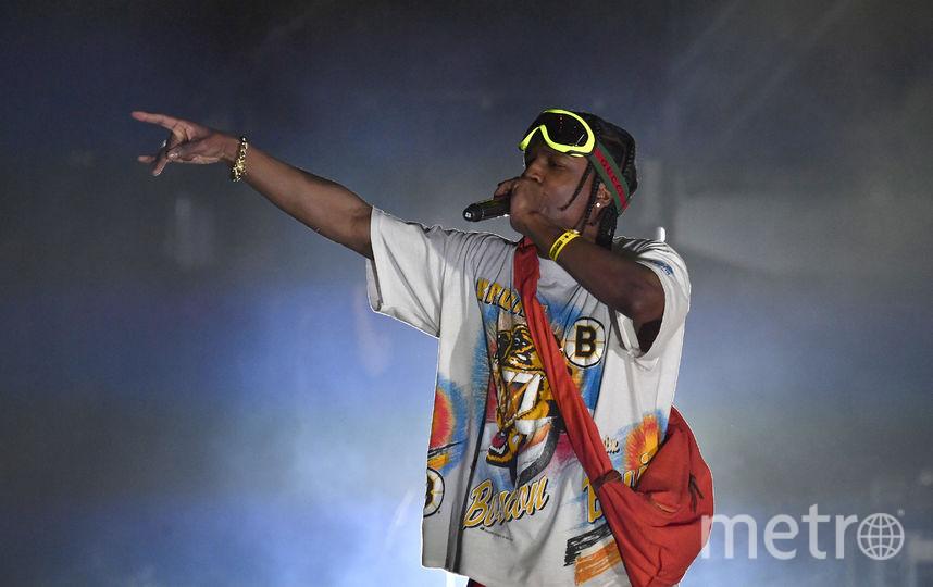 A$AP Rocky вытупит в Москве. Фото Getty