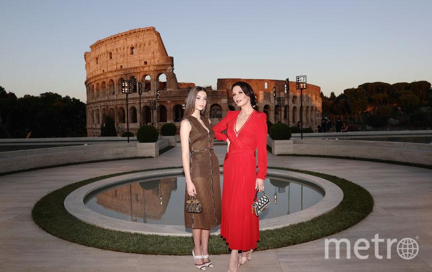 Кэтрин Зета-Джонс и Кери Зета-Дуглас. Фото Getty