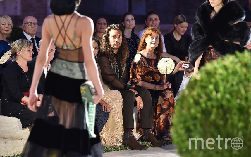 Гости показа Fendi. Фото Getty