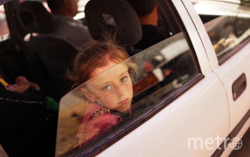 Ребёнок в машине. Фото Getty