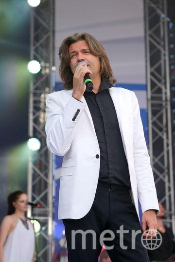 Певец Дмитрий Маликов. Фото Предоставлено «Мосгорпарком»