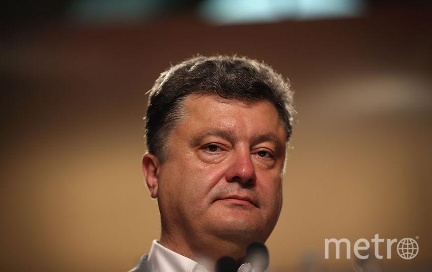 Петр Порошенко. Фото Getty
