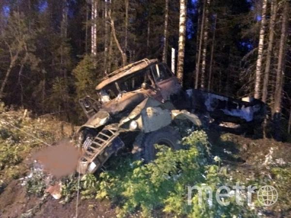 Инцидент произошёл в ночь на 7 июля. Фото РИА Новости