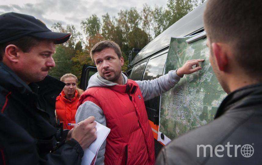 "Григорий Сергеев. Фото «Лиза Алерт», ""Metro"""