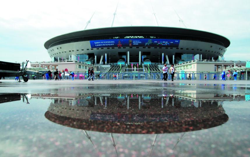 На матчи чемпионата мира по футболу в Петербург съехалось около 1 млн туристов. Фото Getty