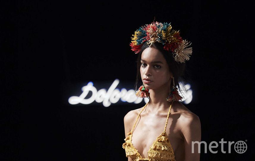 Показ Dolores Cortes. Фото Getty