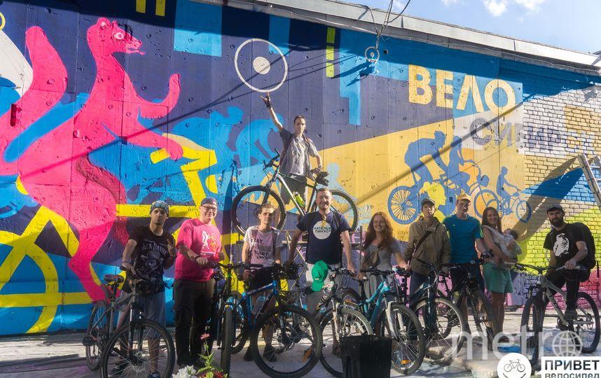 «Привет, велосипед!» уже 8 лет борется за создание безопасной велосипедной инфраструктуры в Новосибирске, обучает детей езде на велосипеде, установили больше ста велопарковок, в том числе у школ, благоустраивает общественные пространства и т.д. Фото Предоставлено организаторами