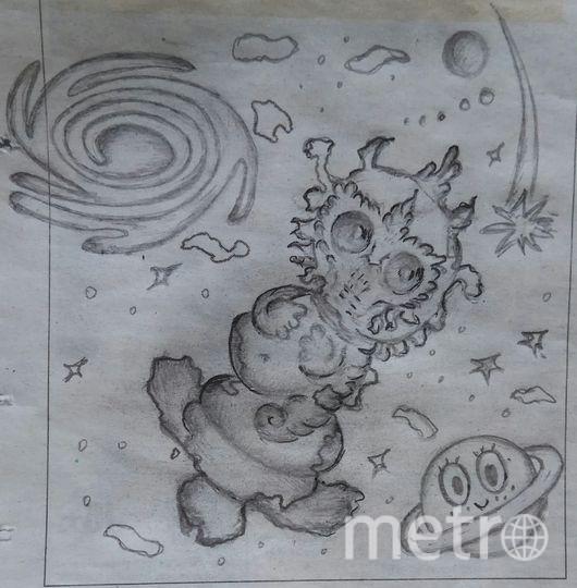 Добрый марсианин летит покорять Москву! Фото Анна Пиреева.