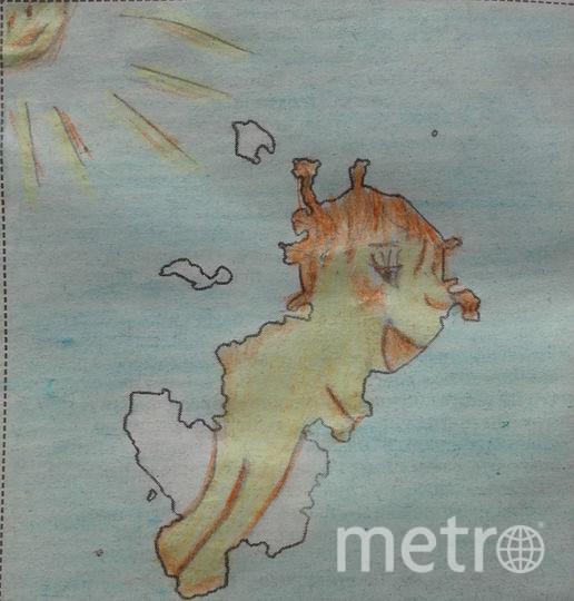 Я увидела ребенка-солнце,который оседлал облака и весело мчится к людям. Фото Елена Легезина