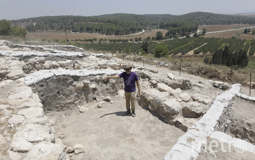 Раскопки начались ещё в 2015 году под руководством Йосефа Гарфинкела. Фото AFP