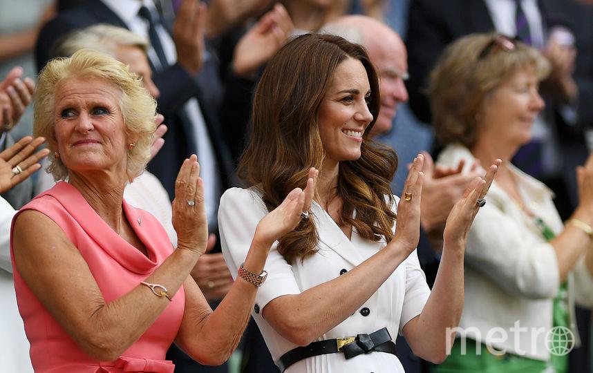 Кейт Миддлтон на Уимблдонском турнире. Фото Getty