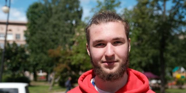 Опрос Metro: Борис, учащийся, 18 лет.
