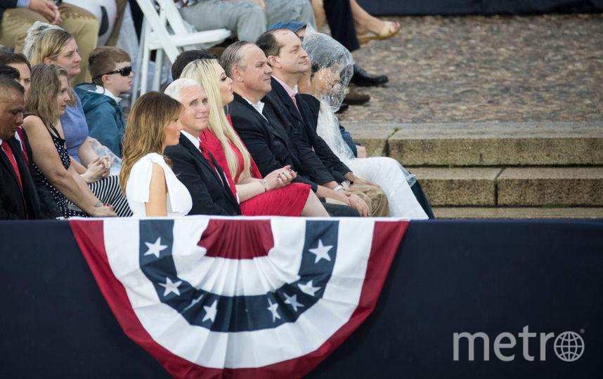 Мелания Трамп  4 июля. Фото Getty