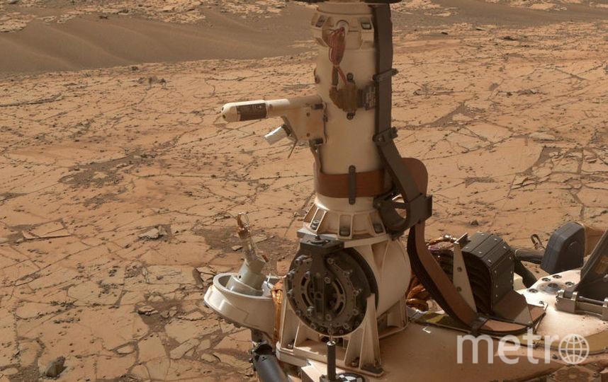 Снимки поверхности Марса. Фото Getty