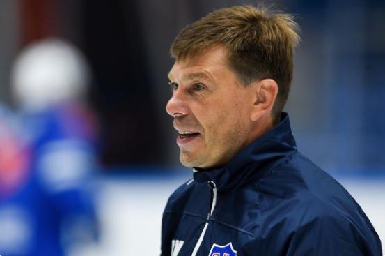 Новым наставником национальной командыстанет Алексей Кудашов. Фото Twitter @hcSKA