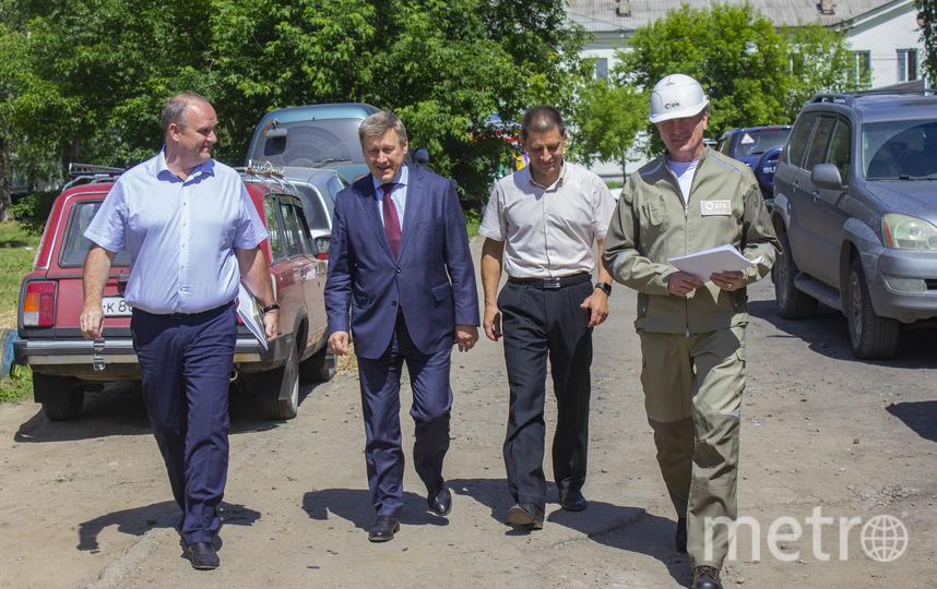 Мэр Новосибирска проверил выполнение проекта. Фото Предоставлено организаторами