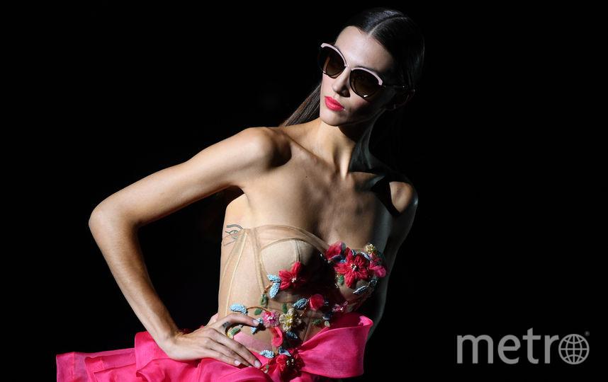 В Мадриде продолжается Mercedes Benz Fashion Week. Показ Hannibal Laguna. Фото AFP