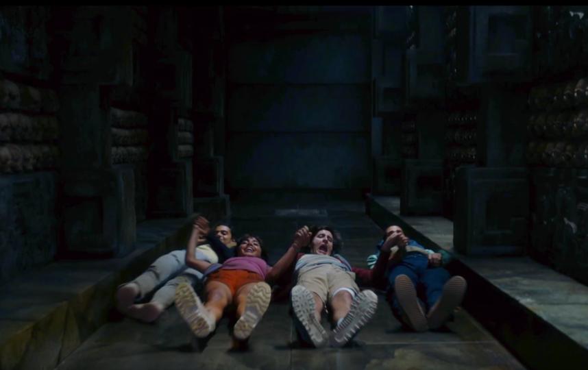 """Кадр из трейлера фильма """"Дора и затерянный мир"""". Фото скриншот: youtube.com/watch?v=j6GrirH4uXU"""