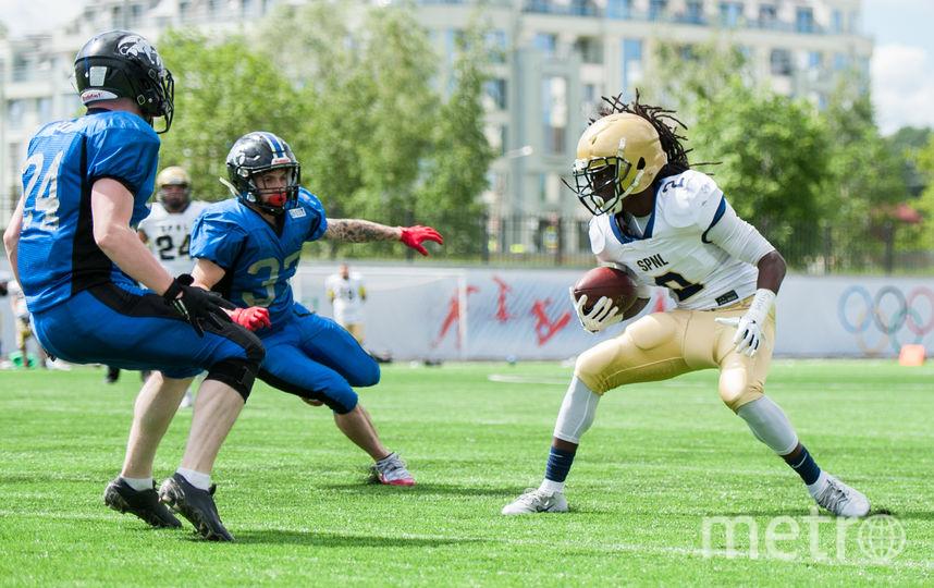 13 июня в Петербурге пройдёт финал Восточно-Европейской Суперлиги по американскому футболу. Фото Мурад Багандов, Предоставлено организаторами
