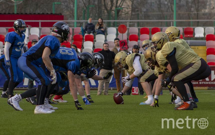 13 июня в Петербурге пройдёт финал Восточно-Европейской Суперлиги по американскому футболу. Фото Павел Манченко, Предоставлено организаторами