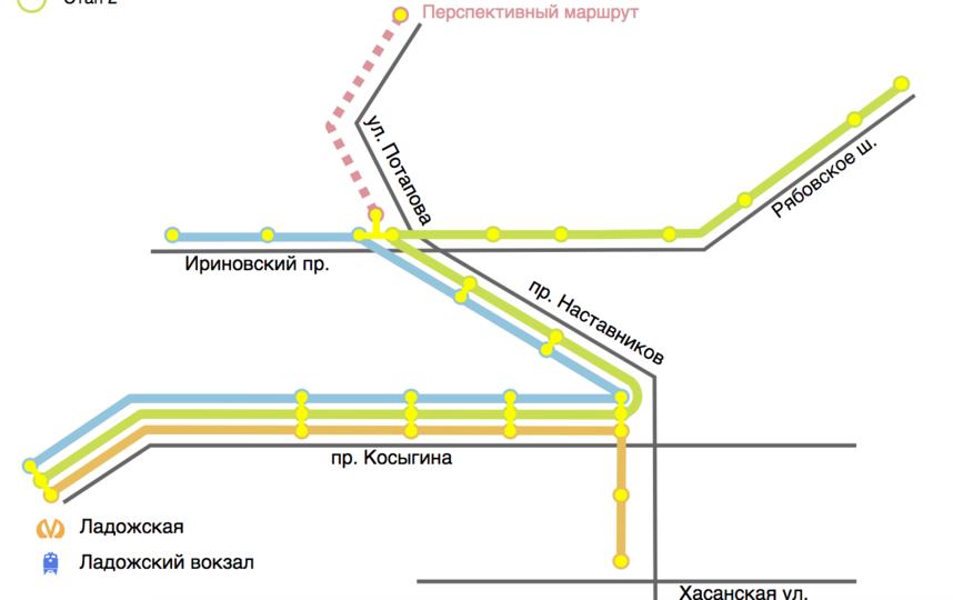 "Проект ""Чижика"" после завершения строительства. Фото http://chizhik-lrt.ru/konczepcziya.html, ""Metro"""