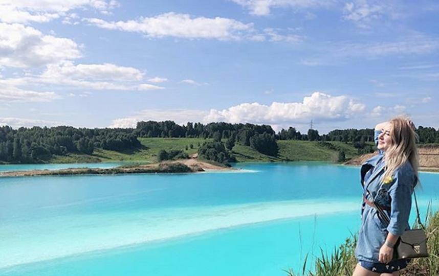 Виды действительно впечатляют: природа, ярко-бирюзовая вода. Фото Скриншот Instagram @ekaterina_efimova_eee
