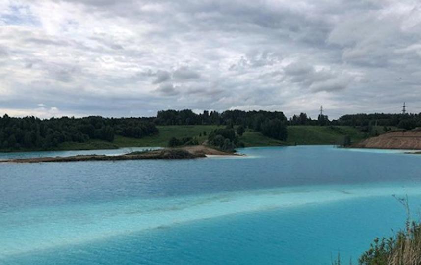 Виды действительно впечатляют: природа, ярко-бирюзовая вода. Фото Скриншот Instagram @gt_54