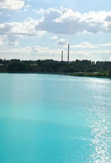 """Другое название """"Новосибирских Мальдив"""" - """"Аномальная зона золоотвал"""". Фото Скриншот Instagram @kseniia.uspeshnaia"""