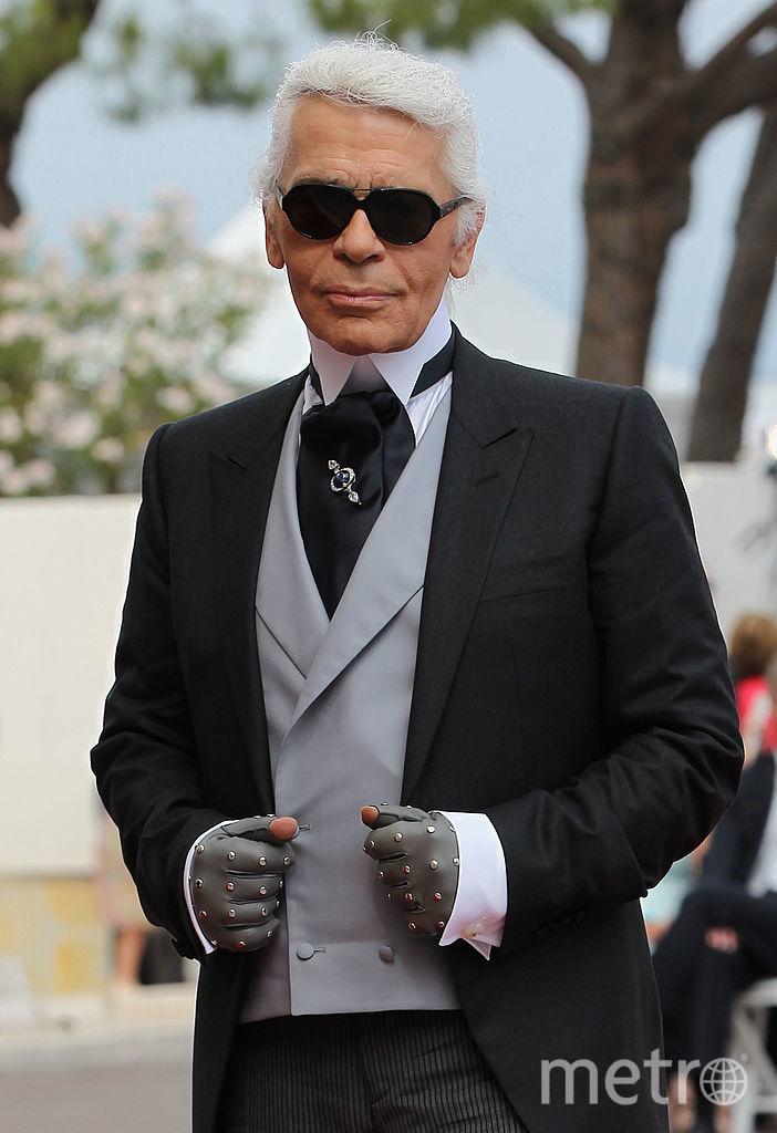 Легендарный модельер Карл Лагерфельд. Фото Getty