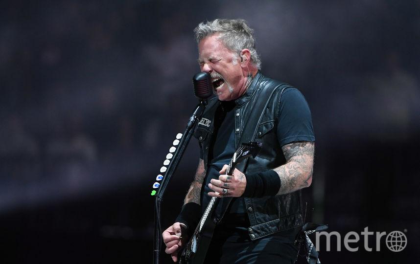 Концерт группы Metallica пройдёт 21 июля. Фото Getty