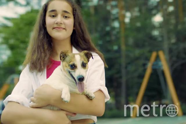 """Фрагмент клипа дочки Алсу. Cафина и Бонита. Фото скриншот Youtube, """"Metro"""""""