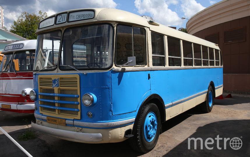 """Именно эта модель автобуса была самой популярной в СССР до появления жёлтого 677-го «ЛиАЗа». Фото """"Metro"""""""