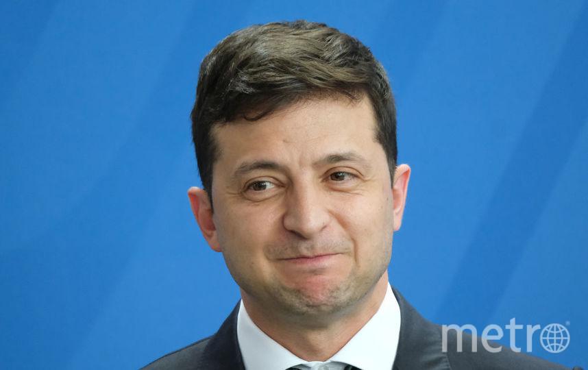 Владимир Зеленский часто не скрывает свои эмоции даже на официальных фото. Фото Getty