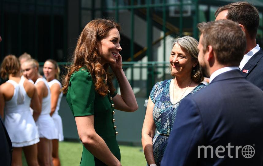 Кейт Миддлтон на Уимблдоне 13 июля. Фото Getty