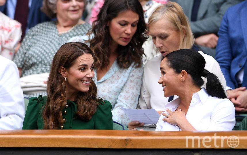 Кейт Миддлтон, Меган Маркл и Пиппа Миддлтон. Фото Getty