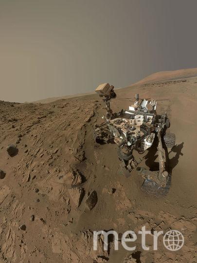 Марсоход Curiosity. Архивное фото. Фото Getty