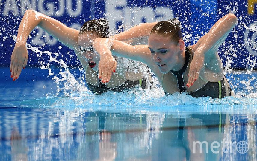 Светлана Ромашина и Светлана Колесниченко. Фото AFP