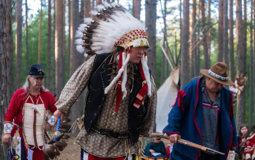 """Фестиваль индеанистов Pow Wow. Фото Алены Бобрович, """"Metro"""""""