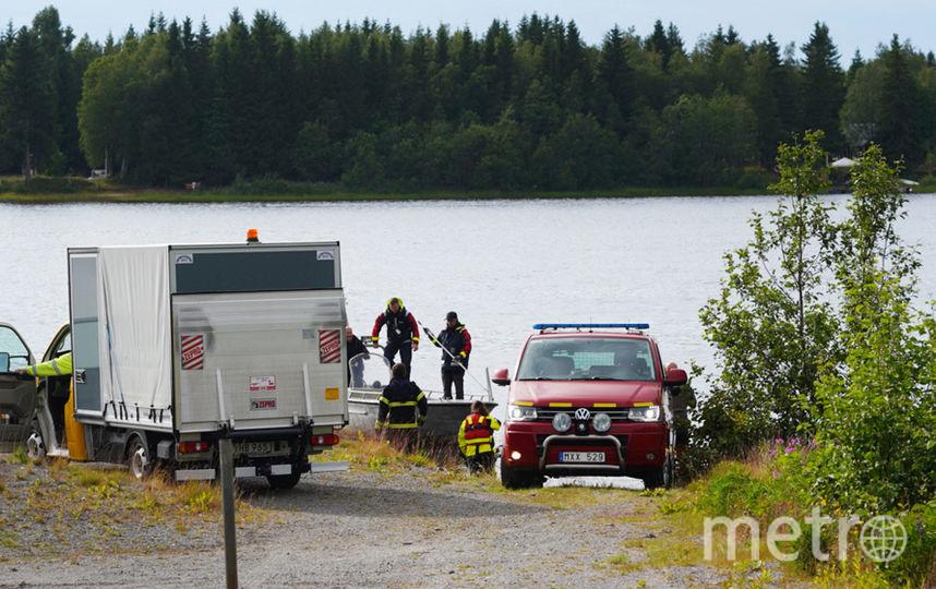 На северо-западе Швеции одномоторный самолёт потерпел крушение. Фото AFP