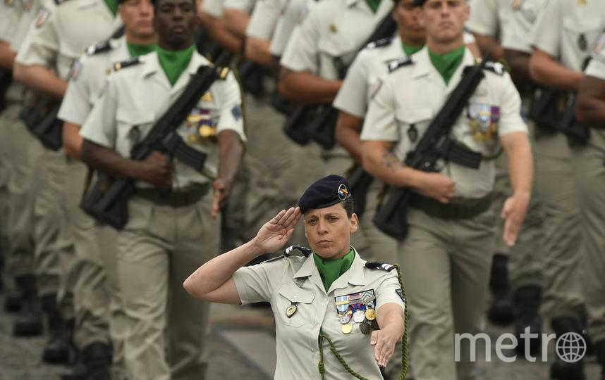 В Париже прошёл парад в честь Дня взятия Бастилии. Фото AFP