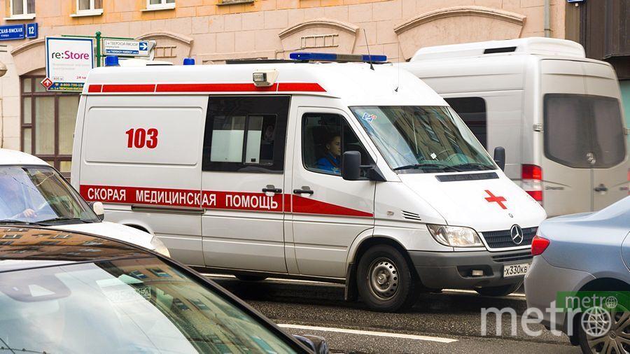 """Девушка умерла за считанные минуты. Приехавшие сотрудники """"скорой"""" только констатировали смерть. Фото Василий Кузьмичёнок"""