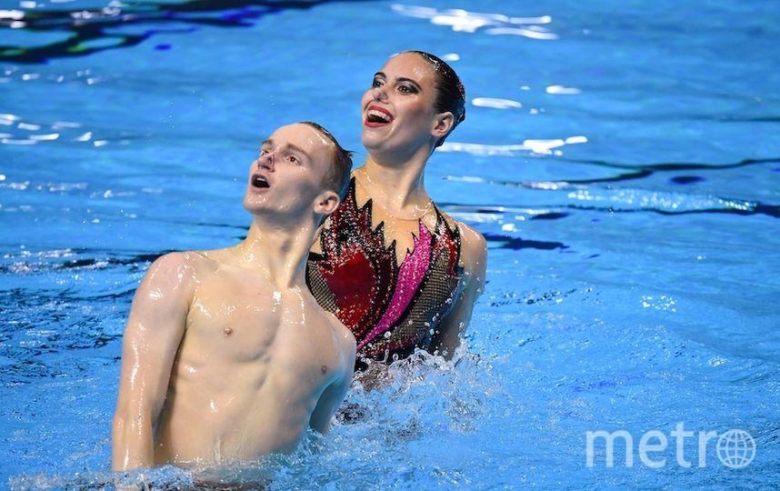Александр Мальцев и Майя Гурбанбердиева. Фото AFP