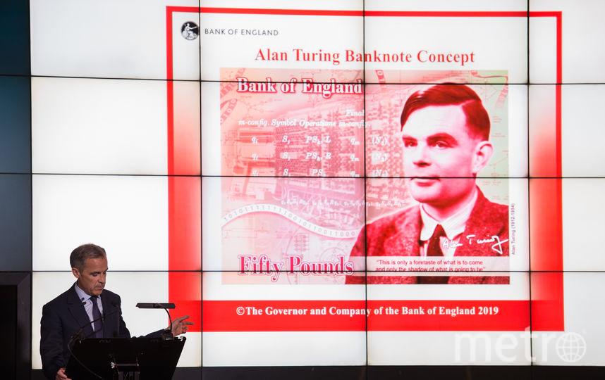 Портрет Алана Тьюринга появится на 50-фунтовой купюре. Фото AFP