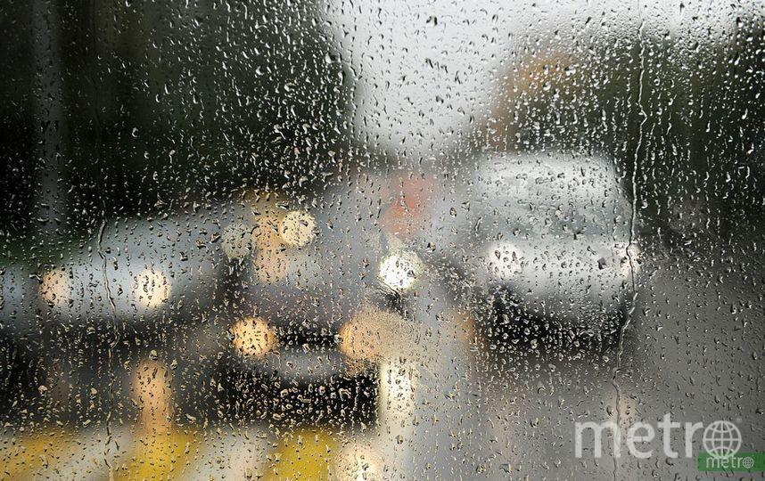 """""""Жёлтый"""" уровень погодной опасности объявлен в Москве до 18 июля из-за дождя и грозы. Фото Василий Кузьмичёнок"""